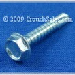 Hex Tek Screws Zinc, Self Drilling Tek Screws Zinc, Tek Screws at Crouch Sales