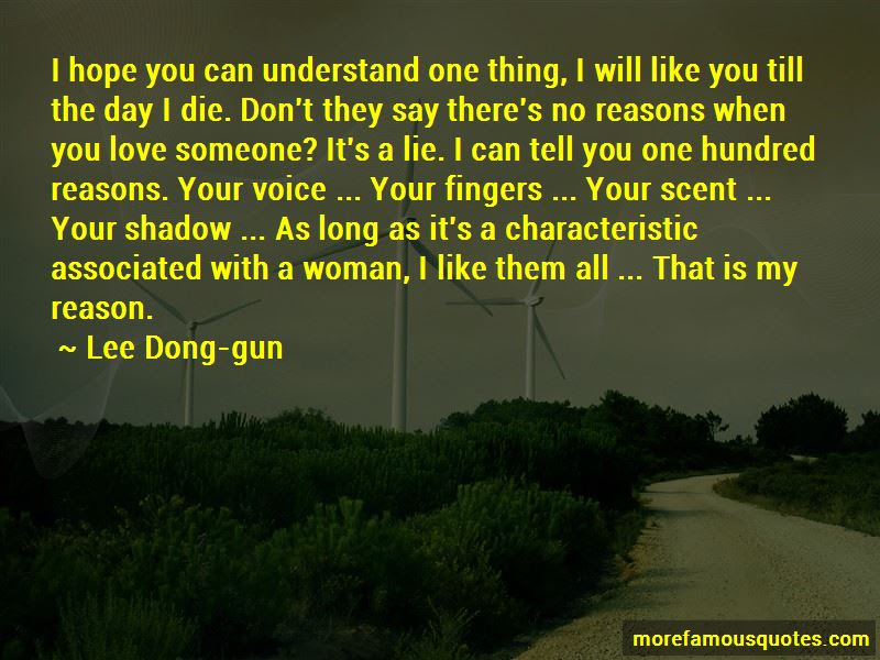 Lee Dong Gun Quotes Top 1 Famous Quotes By Lee Dong Gun