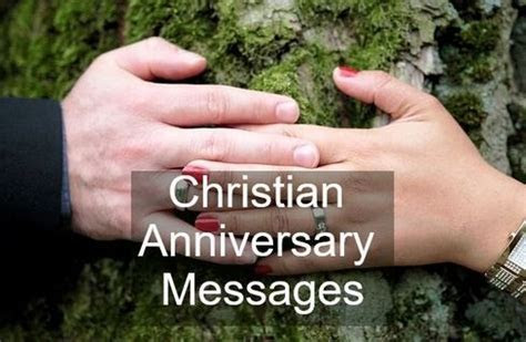 Christian Anniversary Card Messages   Wishes Messages Sayings