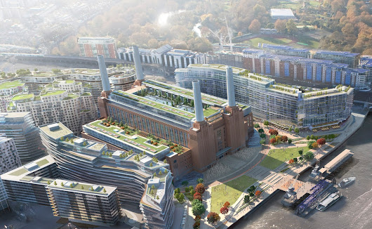 Apple to move London HQ to Battersea Power Station -