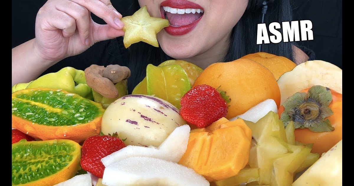 Be One Piece Asmr Exotic Fruit Platter Crunchy Juicy Eating Sounds New Fruits No Talking Asmr Phan U have to like my videos comment and follow for a chance to win.good luck🤪. be one piece blogger
