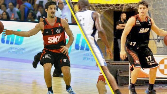 Flamengo e Liga Sorocabana estrearam com vitória no NBB 7 (Foto: Arte/ TV TEM)