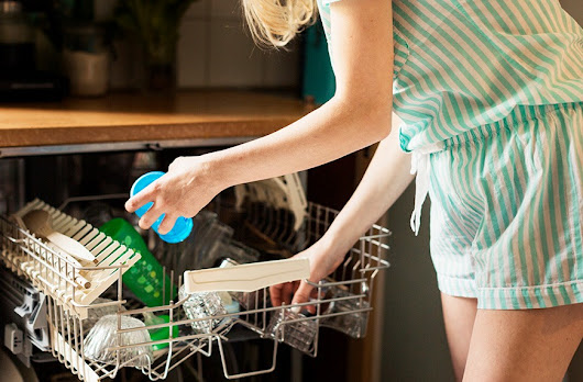How to deep clean your dishwasher with vinegar (because you know it needs it)
