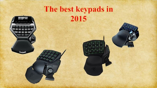 Review of the Best Keypads in 2015