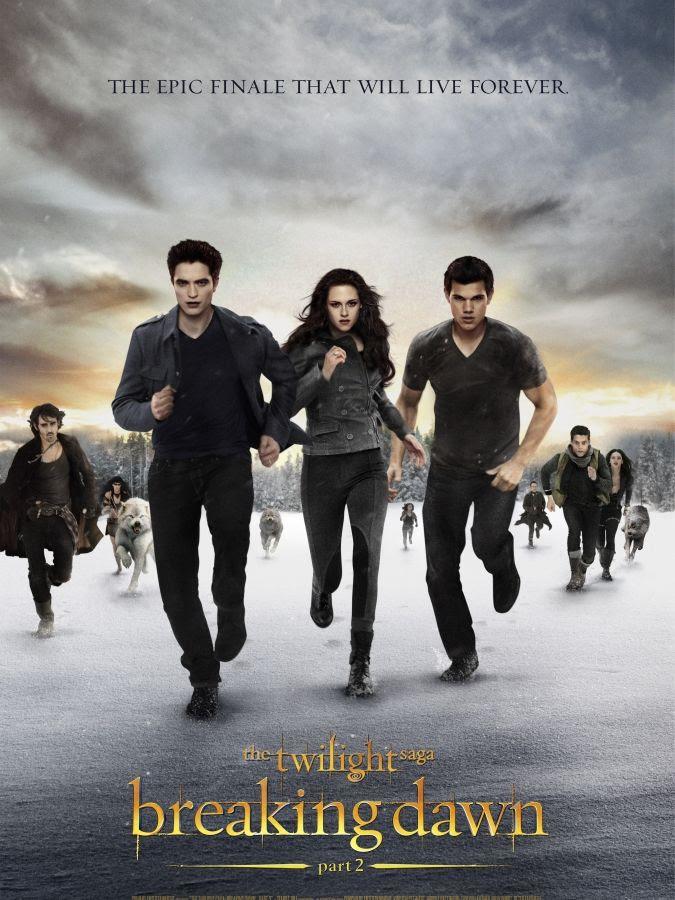 The Twilight Saga: Breaking Dawn - Part 2 (Poster), Robert Pattinson, Kristen Stewart, Taylor Lautner