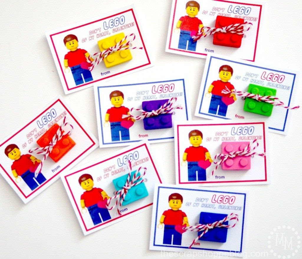 These School Valentines are free to print and oh so clever!