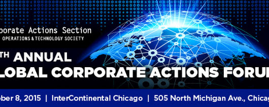 Program | CAS Global Corporate Actions Forum  | 2015 | Events | SIFMA