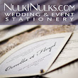 Create your Beautiful and Elegant Wedding & Event Invitation Designs and Stationery with Nulki Nulks!