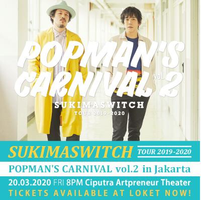 Sukimaswitch, Musisi yang Nyanyikan Theme Song Naruto Shippuden Gelar Konser di Jakarta oleh - seputarnaruto.xyz