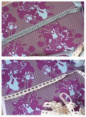 bag tutorial ribbons