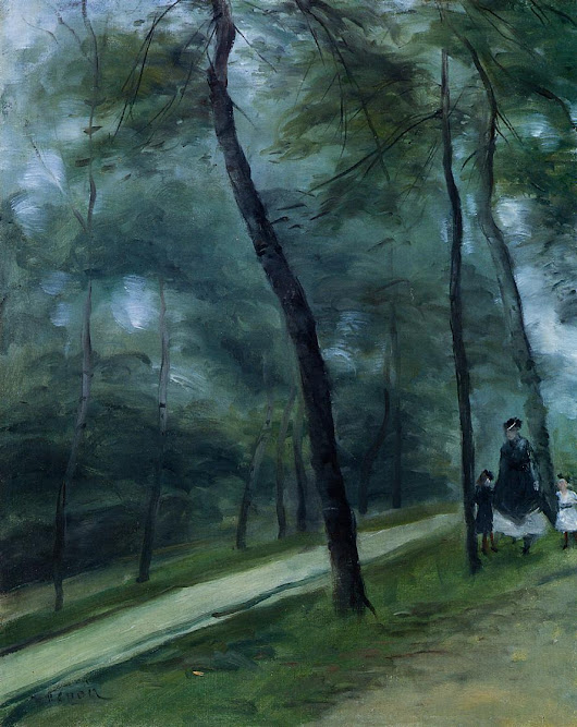 Pierre-Auguste Renoir, A Walk in the Woods