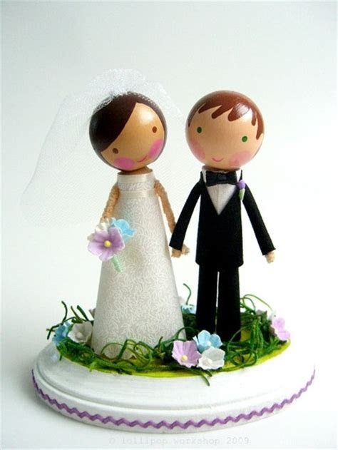 Cute wedding cake toppers   Cakeland Designs Blog