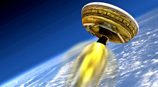 NASA to livestream 'flying saucer' Mars lander test today | ExtremeTech