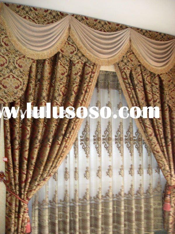 european style curtains, european style curtains Manufacturers in ...