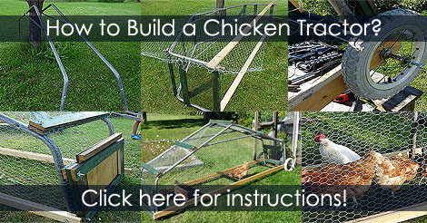 How to Build a Chicken Tractor - Mobile Chicken Coop Design Idea Plan