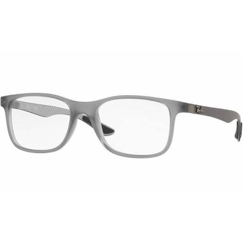 9f30cc29b6 Ray-Ban RX8903 Eyeglasses - Matte Trasparent Grey (5244) - Google ...