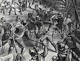 Pertempuran pasukan VOC melawan pasukan Sultan Agung