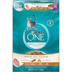 One Cat Food, Tender Selects Blend with Real Chicken, Adult, 16 Pounds - 16 lb