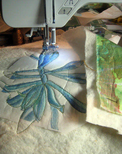drawing to stitching