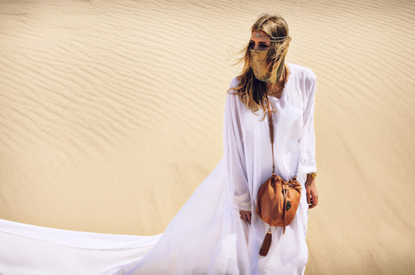 Sand Dunes, Location Fashion Shoot, Love & Luck Handbags, Persia