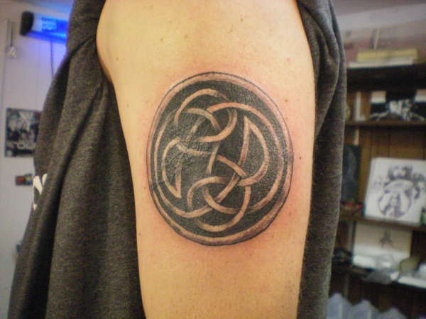 Celtic Knot Cover Up Tattoo