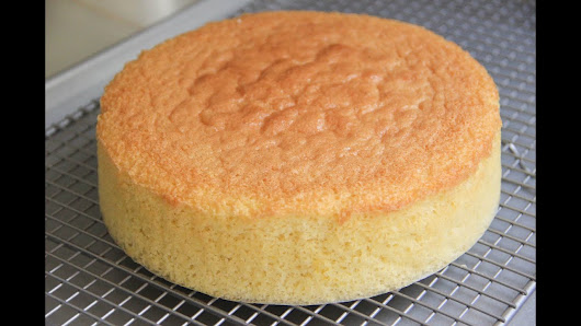 Japanese Sponge Cake Recipe Youtube: Albert Ang