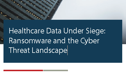 New ThreatSTOP Research Report on Why Healthcare Data is Under Attack