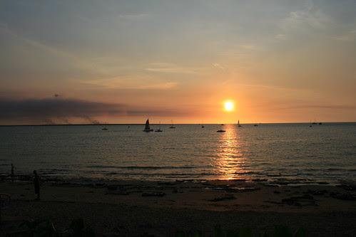 Sunset Darwin Sailing Club
