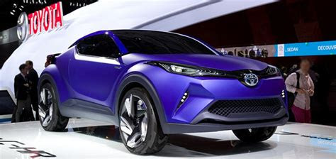 toyota   readying  honda hr  rival  early