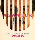Poster of Agantuk (The Stranger), 1991 designed by Satyajit Ray