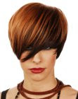 short hairstyle - Westrow Hairdressing