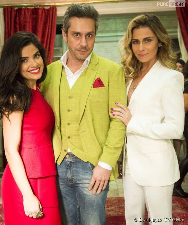 """Em """"A Regra do Jogo"""", Vanessa Giácomo, Alexandre Nero e Giovanna Antonelli vão formar um triangulo amoroso"""