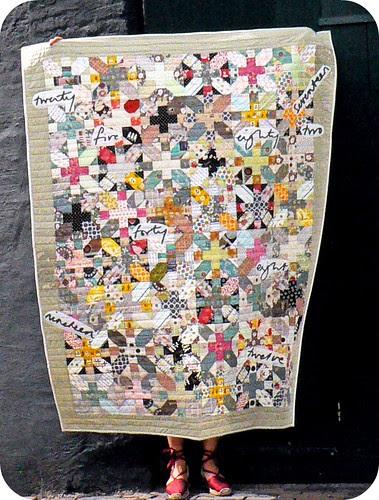 + & X blocks Quilt