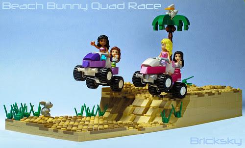 Friends Beach Bunny Quad Race