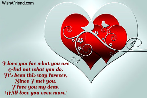 I Love You For What You Love Message For Wife