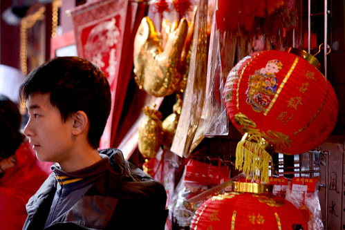 Boy in China Town