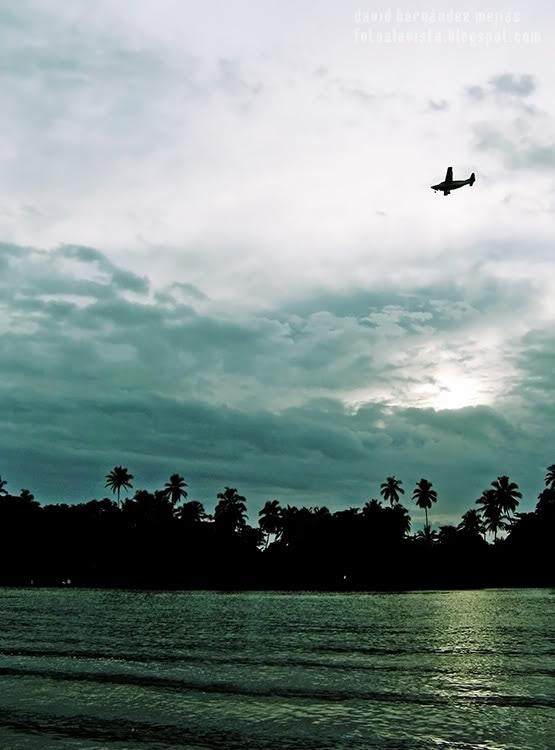 El vuelo de la avioneta