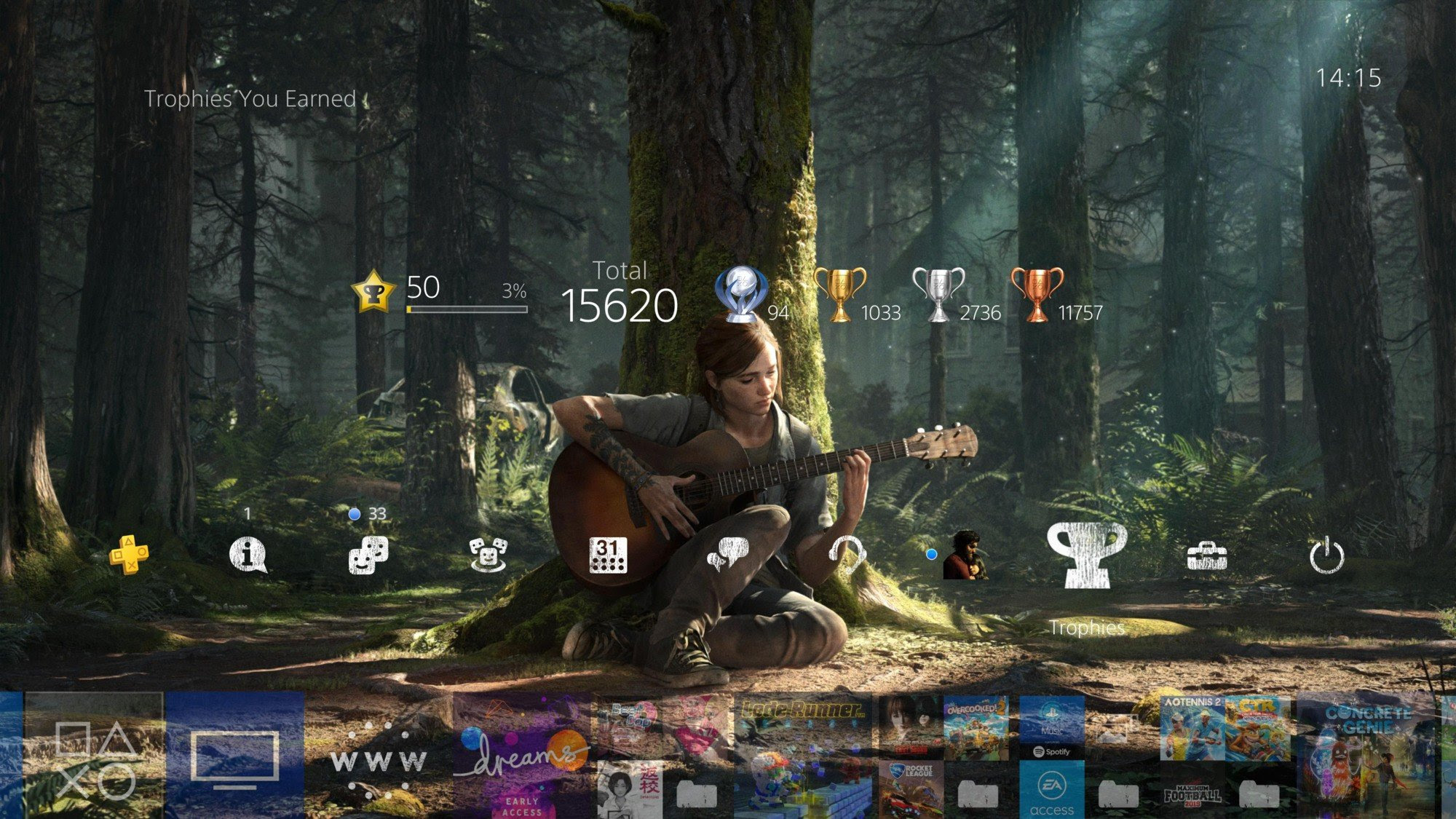 Amazing The Last Of Us 2 Ellie Ps4 Theme Changes From Day To Night