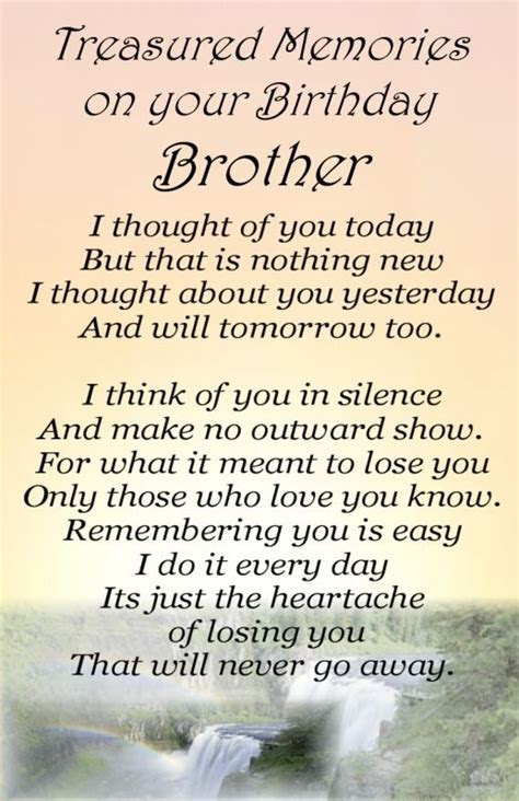 In Memory Of My Brother Quote   Quote Number 576989