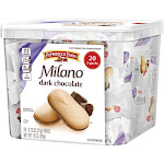 Pepperidge Farms Milano Cookies, Dark Chocolate - 20 count, 15 oz box