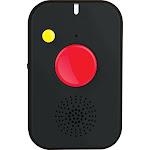 Logicmark - Notifi911+ Mobile Emergency Response Pendant - Black