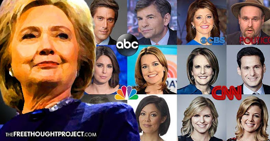 WikiLeaks List Exposes At Least 65 Corporate 'Presstitutes' Who Colluded to Hide Clinton's Crimes