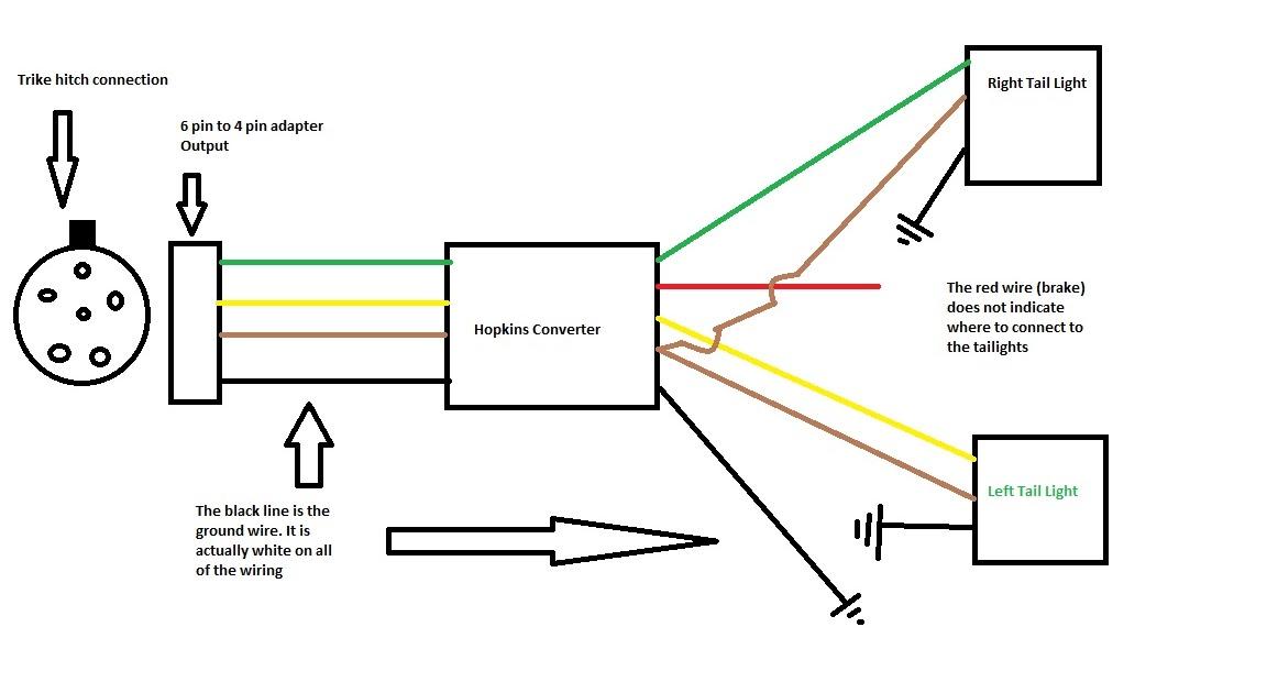 Wiring Manual PDF: 1800 Goldwing Trike Trailer Wiring Diagram