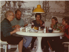1970-luku: lasikuitupöytä