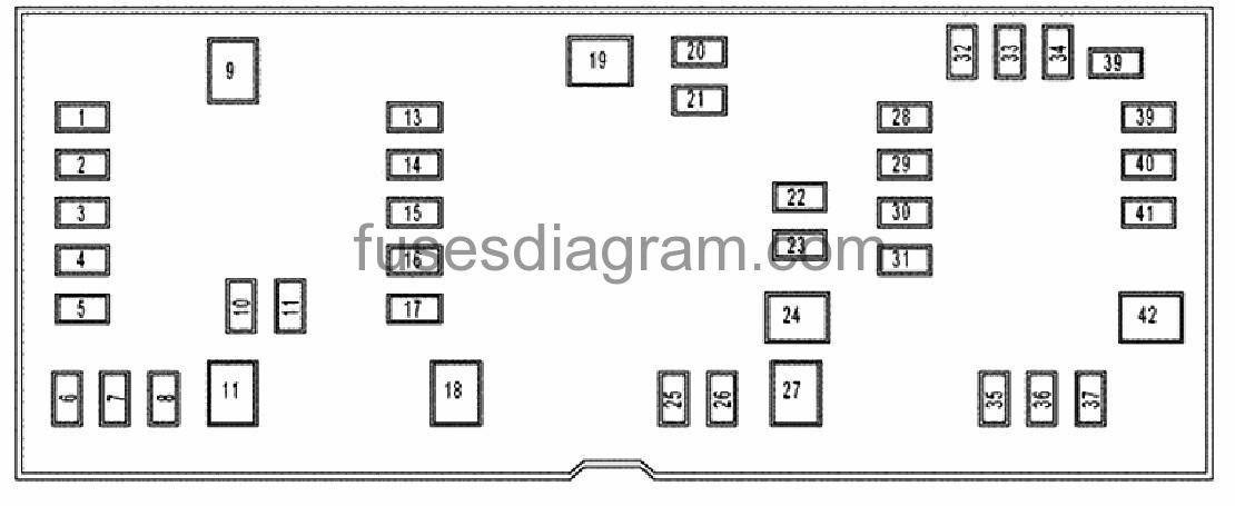 31 2009 Dodge Ram 2500 Fuse Box Diagram
