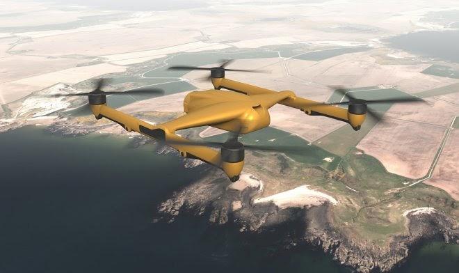 BAE Systems построит «грузовой» квадрокоптер, способный переносить до 300 кг