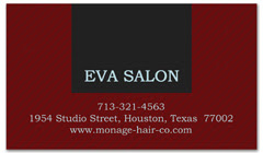 BCS-1077 - salon business card
