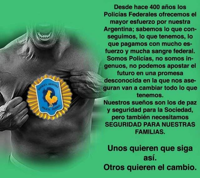 Mensaje publicado en el muro de Facebook de Arturo Martínez