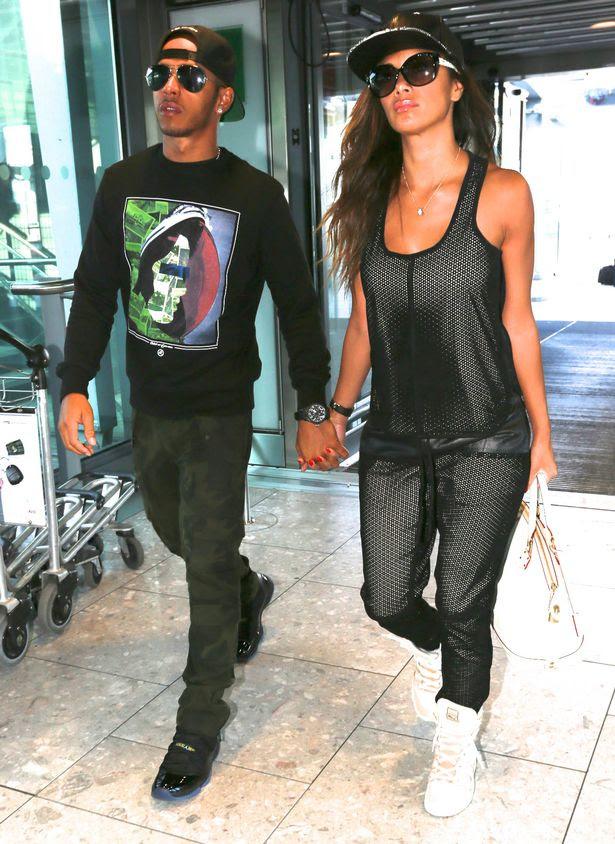 Nicole Scherzinger and Lewis Hamilton look like the ...