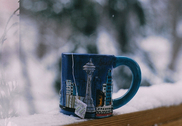 Зимнее чаепитие